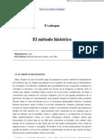 P.Lafargue_ El método histórico