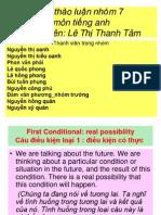 Bài thảo luận nhóm 7