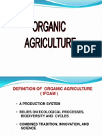 Organic Agriculture Concepts and Principles