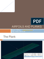 Airfoils and planks