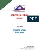 Chapter 5 - Sewage & Debris Pollution