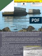 Los Mulberries vs 4 Obras de Cajones en Canarias