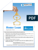 Sbi Home Loan Application Form Pdf