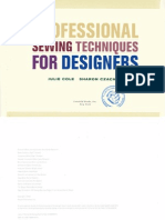 Profesional Sewing Techniques for DESIGNERS