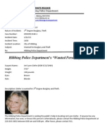 Wanted Person of the Week-Giefer
