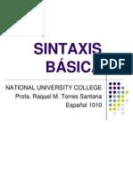 sintaxis basica