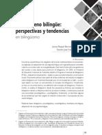 El fenómeno bilingüe perspectivas y tendencias en biblinguismo