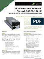 Datasheet Flatpack2 48-60-2000 HE
