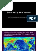 Lecture 1 UA Sedimentary Basins
