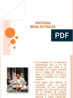 PRÓTESIS moelectricas