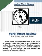 Class 1 Verb Tenses