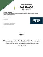 Presentation1 Proposal
