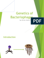 Genetics of Bacteriophages