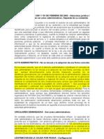 Acto administrativo concepto y formas - 2010 - 11001-03-26-000-2007-00023-00(33934)