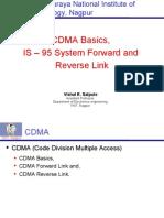 CDMA Basics is-95 Forward & Reverse Channel