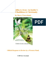 "Response ""From Buddha to Jesus"" by Steve Cioccolanti - Official Response to Review by a Western Monk"