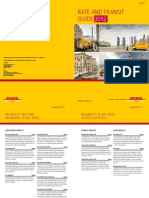 Dhl Express Rate and Transit Guide 2012 Au
