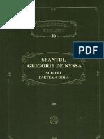 PSB 30 - Sf Grigorie de Nyssa -Scrieri, Partea a Doua