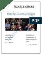 factors influencing movie goers