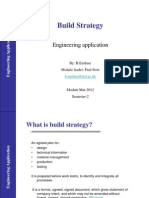 MAR2012 Build Strategy