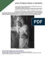 21 ani de la moartea Prinţesei Ileana a României