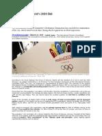 IOC Praises Madrid's 2020 Bid