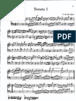 CPE Bach - Pruisische sonaten