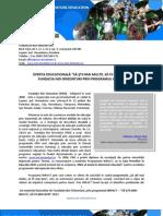 Fundatia Noi Orizonturi_Oferta Sa Stii Mai Multe, Sa Fii Mai Bun, 2013