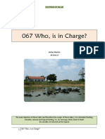 067 Who is in Charge?