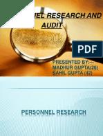 HR Research & Audit PPT-
