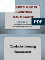 G2 - Condusive Learning Environment