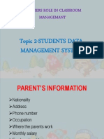 G4 - Students Data Management System