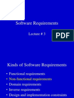 Requirement Enginering  Software Requirement Tutorial 3