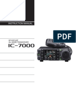 Icom IC-7000 User Manual