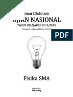 SMART SOLUTION UN FISIKA SMA 2013 (SKL 3 Indikator 3.1 Kalor, Perpindahan Kalor Atau Asas Black)