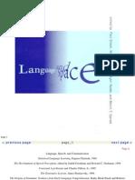 Paul Bloom Et Alii Language and Space 1996