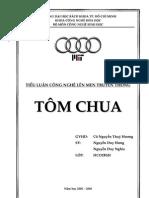 [cafebook.info] Tiểu luận công nghệ lên men truyền thống tôm chua.pdf