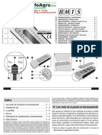 instrucciones de uso higrómetro BM 15/BM20