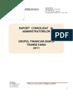 Raportul Consolidat Al Administratorilor 2011
