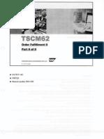 TSCM62 2 Order Fulfillment II