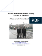 Formal and Informal Seed Supply System in Pakistan