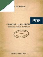 Borochov-Nuestra Plataforma-Bases Del Sionismo Proletario