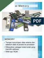 Mengenal Memory memory