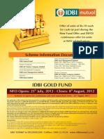 IDBI Gold Fund