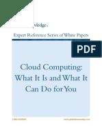 CloudComputing Whatisitfor A