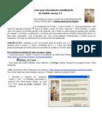 Instrucoes Para Instalacao-Atualizacao Do SisBol v2.2