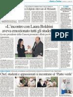 17.3.2013, 'Esposto Il Dipinto Ritrovato Di Melandri', Resto Del Carlino Ravenna