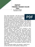 FDTCT Flash Dynamic Triad Color Test