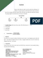 19844967 Notes on Ratio Analysis