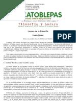Cosmin Caluser, Locura de la filosofía, El Catoblepas 24_17, 2004